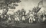 Surrender of General Burgoyne at Saratoga NY Oct