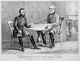Surrender of General Lee – at Appomattox, CH Va