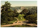 River Avon from Clifton Downs, Bristol, England