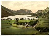 Buttermere and Crummock Water, Lake District, England