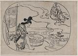 The Daoist sage Kume (Jiumi xianren)