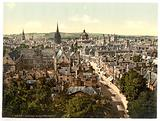 General view and High Street, Oxford, England