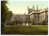 New College, garden front, Oxford, England