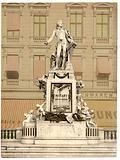 Mozart Monument, Vienna, Austro-Hungary