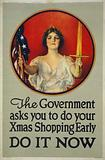 The government asks you to do your Xmas shopping early - Do it now