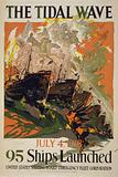 The tidal wave - July 4, 1918, 95 ships launched