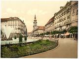 Graz, Herrengasse, Styria, Austro-Hungary