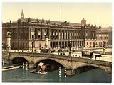 Frederick's Bridge and the Bourse, Berlin, Germany