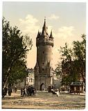 Eschenheimer Gate, Frankfort on Main (ie Frankfurt am Main), Germany