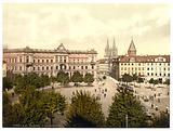 Konigsplatz, Cassel (ie Kassel), Hesse-Nassau, Germany