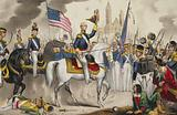 Genl. Scott's grand entry into the city of Mexico, Sept