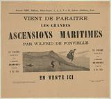 Vient de paraitre, les grandes ascensions maritimes par Wilfrid de Fonvielle, en vente ici