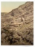 Convent of Elijah and Brook of Kerith, Wady-el-Keit, Holy Land