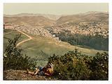 General view, Zahleh, Holy Land, (ie Zahlah, Lebanon)