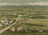 Denver in 1859. Date c1891 April 21