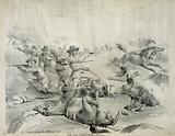 The last battle of Gen. Custer