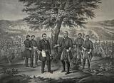 The surrender of General Lee and his entire Army to Lieut