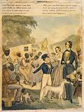 America. An idealized portrayal of American slavery and the conditions of blacks under this system in 1841