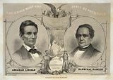 The Union must and shall be preserved. For President Abraham Lincoln of Illinois.