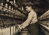 A doffer boy in Globe Cotton Mill, Augusta, Ga