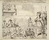 The heroic Charlotte la Cordé, upon her trial, at the bar of the revolutionary tribunal of Paris, July 17, 1793