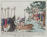 Messieurs Delaunay, Flexelles, Berthier, Foulon, et les deux Gardes du Corps