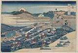 Fuji at Kanaya on the Tōkaidō