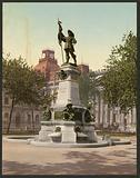 Statue of Maisonneuve, Montreal