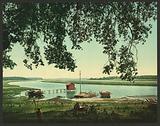 Site of Old Fort Bayou, Ocean Springs, Miss
