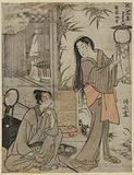 Kesa Gozen of the Heian Period