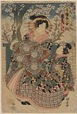 The courtesan Kashiku of the house of Tsuru