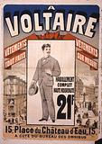 A Voltaire: vêtements tout fait, vêtements sur mesure