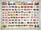 Johnson's new chart of national emblems