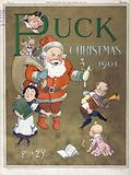 Puck Christmas 1901