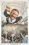 """Chicago, June 21, 1904 - """"All in favor of the nomination will say aye!"""""""