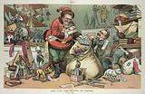 Santa Claus elect preparing for Christmas