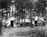 Quarters of Capt. Harry Clinton, Qt. Mst. of Provost Marshal Dept., Brandy Station, Virginia