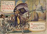 Official program – Woman suffrage procession, Washington, DC March 3, 1913