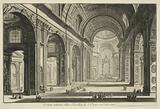 Veduta interna della Basilica di S Pietro in Vaticano