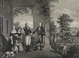 Genl. Lafayette's departure from Mount Vernon 1784