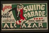 """Swing parade"" 1937 musical smash hit positively last week!"