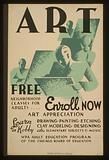 Art – Free neighborhood classes for adults … enroll now
