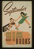 September – back to work – back to school – back to BOOKS