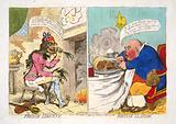 French liberty – British slavery