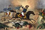 Gallant charge of the Kentuckians at the Battle of Buena Vista, Feby