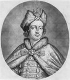 Peter the Great, head-and-shoulders portrait, facing slightly right