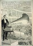 The Edison concert phonograph Have you heard it?