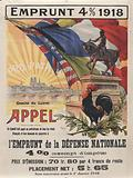 Emprunt 4% 1918 . . . l'Emprunt de la Défense Nationale
