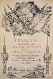 Français, souscrivez au deuxiéme Emprunt de la Défense Nationale