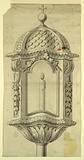 Elevation of a Processional Lantern